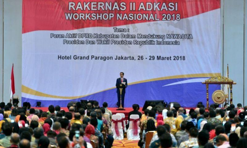 Presiden Ajak DPRD Bangun Hubungan Kerja Sinergis Pusat-Daerah