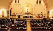 Ibadah Jumat Agung: Hikmat, Antusias, Pentas Drama, Prosesi Jalan Salib dari Berbagai Daerah