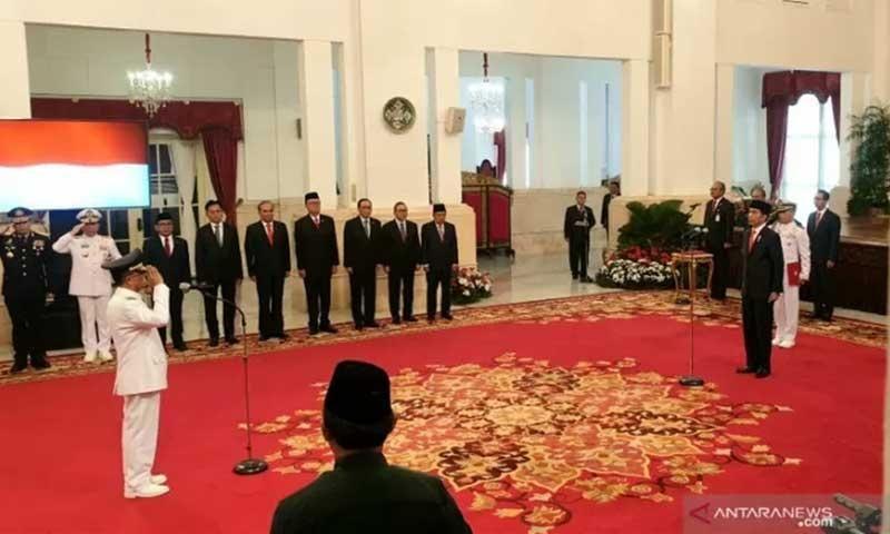 Presiden Lantik Wakil Gubernur Sulawesi Tengah