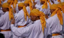 Ribuan Karateka Pecahkan Rekor MURI di Banjarmasin