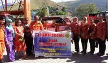 Basarnas Jayapura Gelar Bakti Sosial untuk Pengungsi Wamena