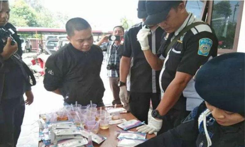 Anggota DPRD Kapuas Ditangkap Diduga Gunakan Narkoba