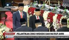 Sah! Joko Widodo-Ma'ruf Amin Resmi Dilantik Presiden dan Wapres RI