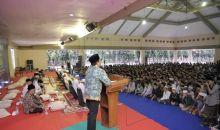 Kunker ke Kediri, Gus Menteri Hadiri Pembukaan FMPP se-Jawa-Madura