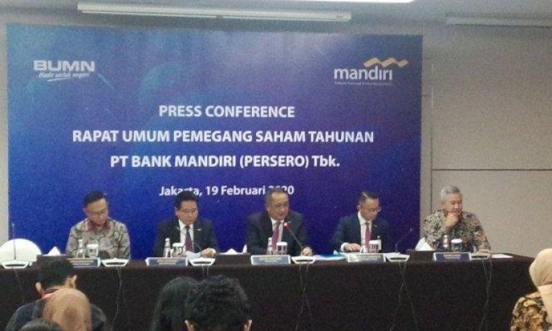 Bank Mandiri Bagikan Deviden Sebesar Rp16,49 Triliun