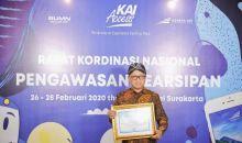 Kemendes PDTT Raih Penghargaan Pengawasan Kearsipan dari ANRI