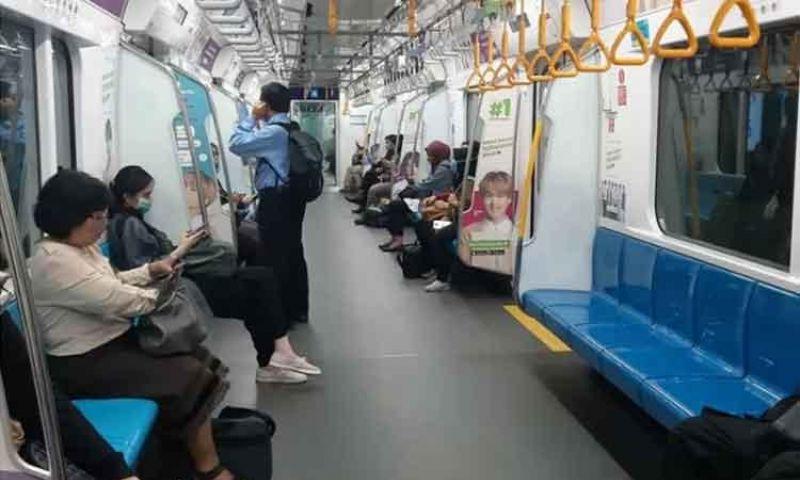 Waspada COVID, MRT Jakarta Ubah Kebijakan Waktu Tunggu Jadi 10 Menit