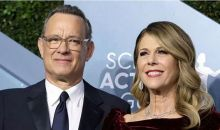 Tom Hanks dan Rita Wilson Kembali ke Amerika