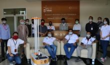 Inovasi Baru, Telkom Uinversity Ciptakan Robot Sterilisasi Ruang Isolasi COVID-19