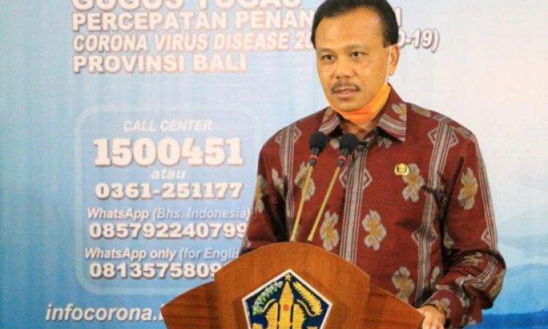 Dari Bali Dilaporkan, Pasien Sembuh COVID-19 Capai 54,43 Persen