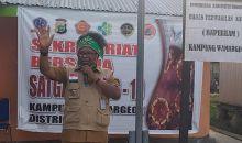 Ketua Gustu COVID-19 Sorsel Resmikan Posko Distrik Konda