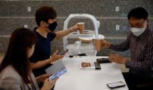 Teknologi Pintar Robot Barista, Cegah Penyebaran Corona di Korsel