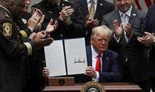 Buntut Aksi Brutal Polisi, Trump Teken Surat Perintah terkait Reformasi Kepolisian