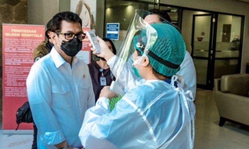 Kemenparekraf Pantau Ketat Penerapan Protokol Kesehatan di Destinasi Wisata
