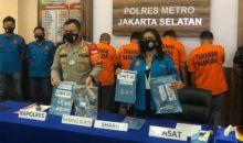 Tiga Pilot Konsumsi Narkoba dan Seorang Pemasok Ditangkap Polisi