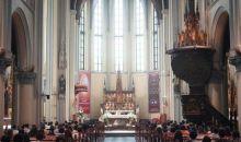 Tiga Bulan PSBB, Hari Ini Gereja Katedral Jakarta Kembali Gelar Misa Langsung Pertama