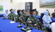 Sambut HUT ke-57 Wanita Angkatan Udara Digelar Pembekalan di Lanud Silas Papare