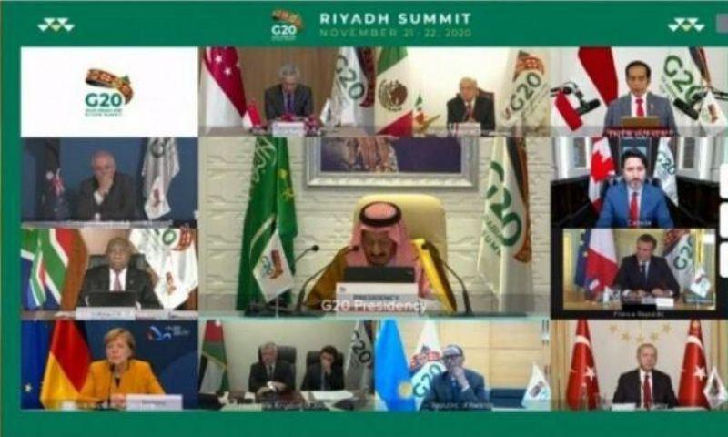 Raja Salman Buka KTT G20, Soroti Penyelamatan Nyawa dan Ekonomi
