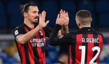 Milan Menang 3-1 atas Napoli Berkat Dwigol Ibrahimovic