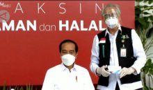 Prof Mutalib, Vaksinator Penyuntik Presiden Jokowi Akui Sedikit Gemetaran