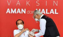 Begini Pengakuan Presiden Jokowi Usai Disuntik Vaksin COVID-19