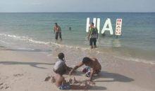 Eksotisnya Pantai Pasir Putih Hi'a Beach di Ujung Timur Maumere