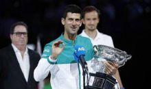 Novak Djokovic Raih Gelar Australian Open Kesembilan