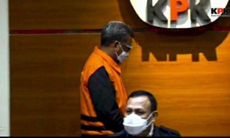 Tok! Gubernur Sulsel Nurdin Abdullah  Resmi sebagai Tersangka