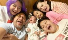 Kompaknya Parenting Indra Brasco dan Mona Ratuliu di Masa Pandemi