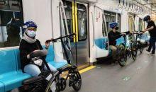 Penumpang MRT Jakarta Bawa Sepeda Nonlipat Mesti Simak Panduan Ini
