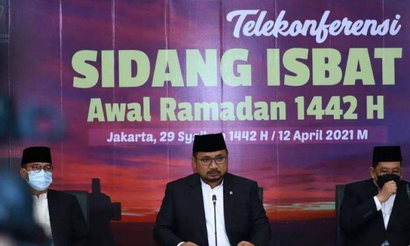 Pemerintah Tetapkan Awal Ramadan 1442H Jatuh pada 13 April 2021
