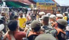 Kericuhan Terjadi di Pasar Tanah Abang antara PKL dan Satpol PP, Ini Penyebabnya