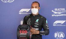 Rayakan Pole ke-100, Hamilton: Ini Seperti yang Pertama