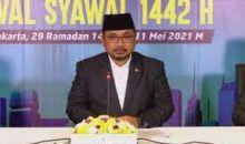 Hasil Sidang Isbat, Idul Fitri 1442 Hijriyah Jatuh pada Kamis 13 Mei