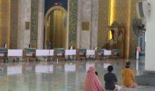 Masjid Raya JIC Gelar Salat Id dengan Prokes Ketat