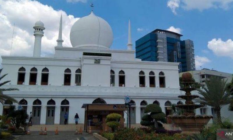 Prokes Ketat, Takbiran di Masjid Al Azhar Jaksel Digelar tanpa Kerumunan