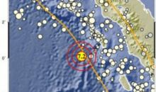 Gempa Magnitudo 7,2 di Nias Barat Terasa hingga Gunungsitoli