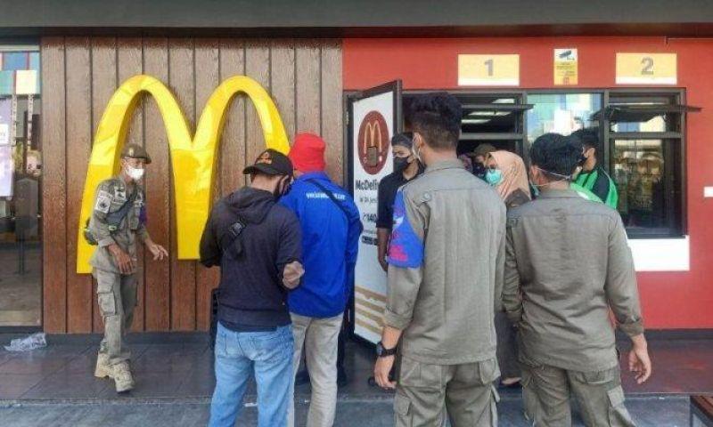 Lagi, di Makassar Satgas Raika COVID-19 Panggil Manajemen McDonald