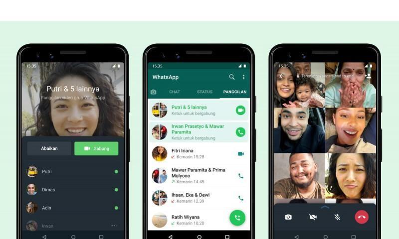 Joinable Call, Fitur Baru WhatsApp untuk Panggilan Grup
