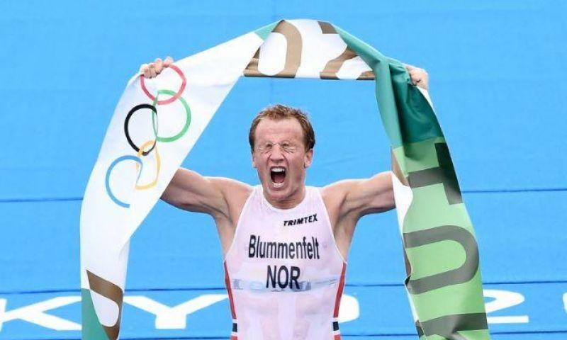 Kristian Blummenfelt Sabet Medali Emas Triathlon Putra Tokyo 2020