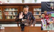 Video Call dengan Greysia-Apriyani, Presiden Jokowi: Selamat, Saya Senang Banget, Jujur Saya Bangga ....