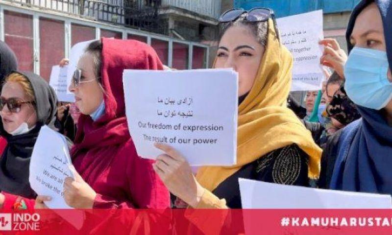 Menlu Qatar Desak Taliban Hormati Hak Perempuan
