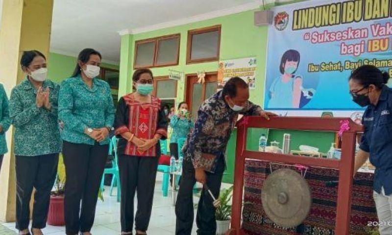 Pemkab Sikka Gelar Vaksinasi COVID-19 untuk Ibu Hamil Secara Serentak di 25 Puskesmas