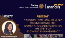 Rotary Club Jakarta Metropolitan Akan Gelar Galang Dana untuk Kampung Cimenteng Banten
