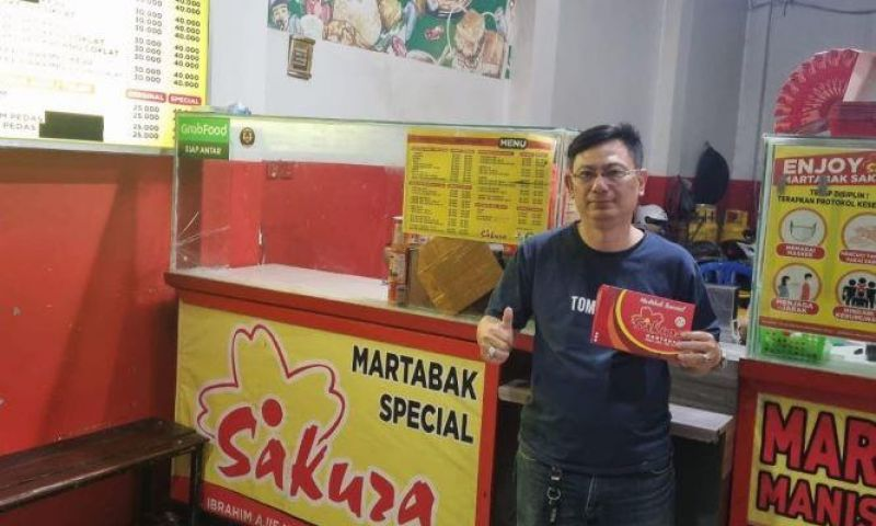 Dipesan 7 Juta Kali di Platform Online, Martabak Jadi Kuliner Andalan UMKM Martabak Sakura