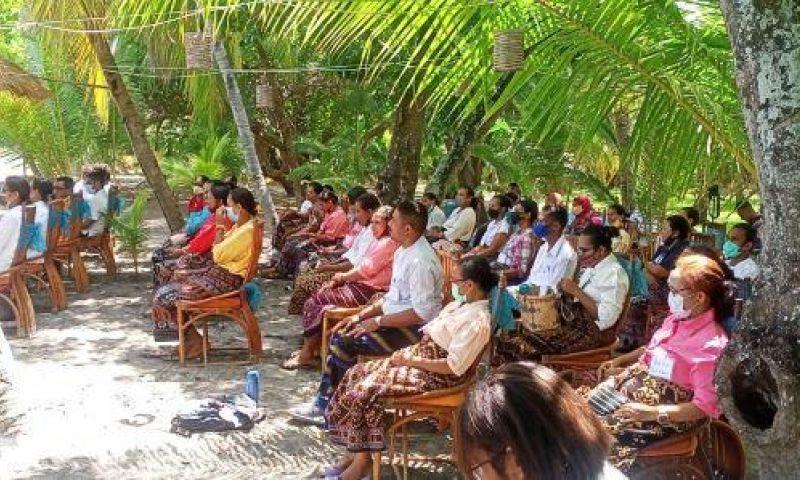 40 Warga Sikka Ikut Pelatihan Peningkatan Inovasi dan Higienitas Sajian Kuliner di Destinasi Pariwisata