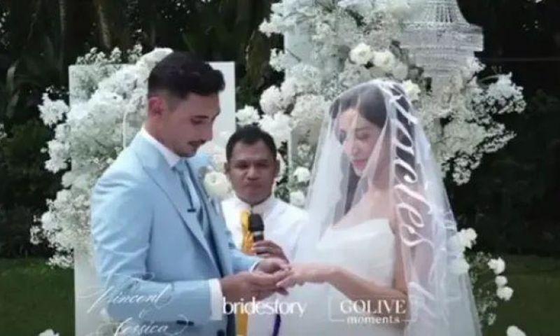 Resmi Menikah, Jessica Iskandar dan Vincent Verhaag Jadi Pasutri