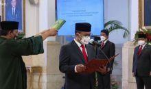Jokowi Hadiri Penyumpahan Jabatan Kepala PPATK 2021-2026